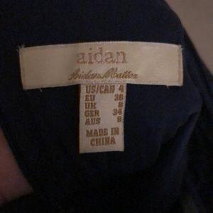 Aidan Mattox Dresses - Blue sequins dress